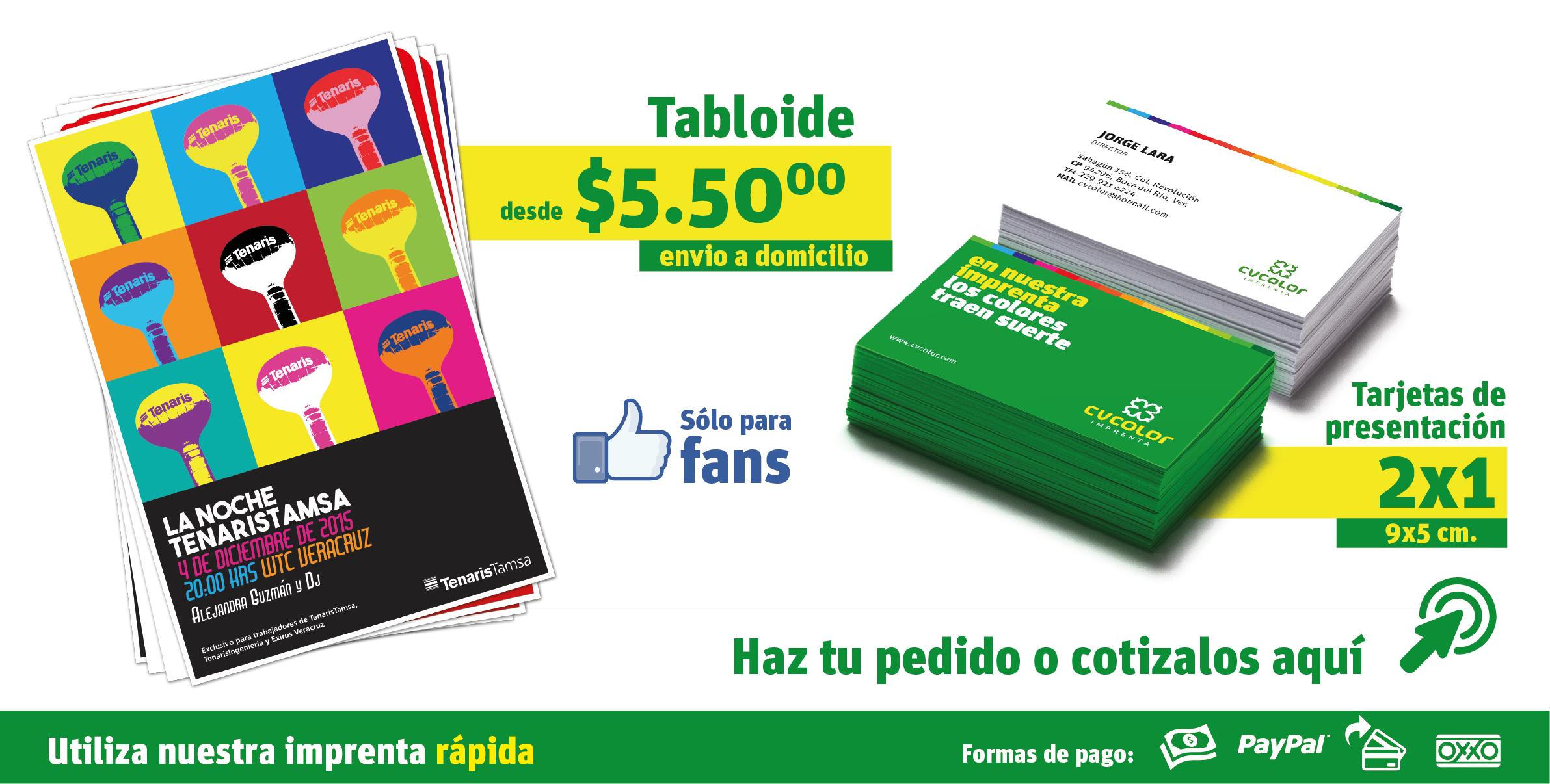CV COLOR - Servicio de Impresión - Imprentas en Veracruz